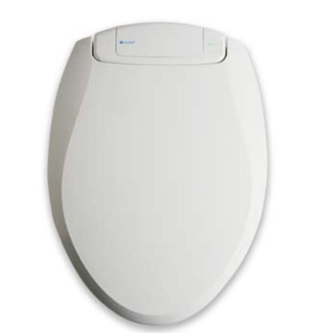 Deodorizing White Toilet Seat