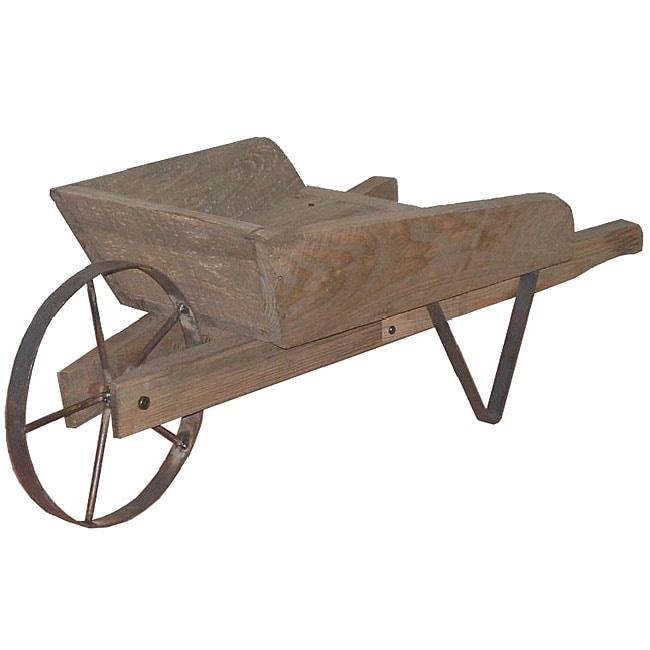 Wheelbarrow Decoration