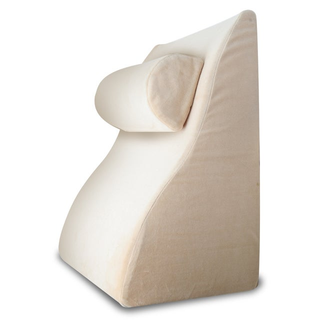 Sarah Peyton Memory Foam Bed Wedge With Head Rest