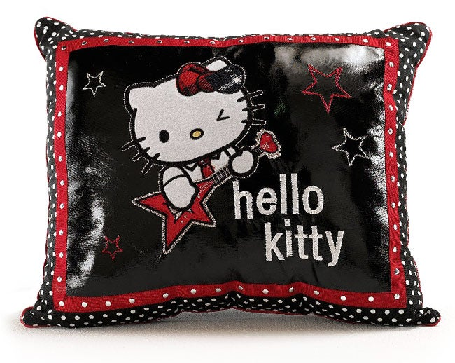Hello Kitty Rocker Guitar Decorative Pillow - 11547497 - Overstock.com Shopping - Great Deals ...