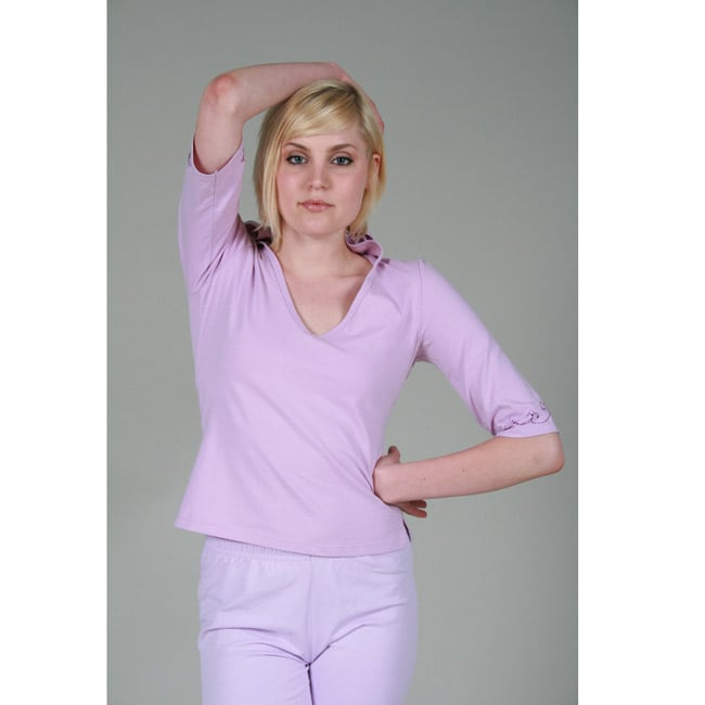 Oliver & James Yogacara Women's Lilac Hooded Top at Sears.com