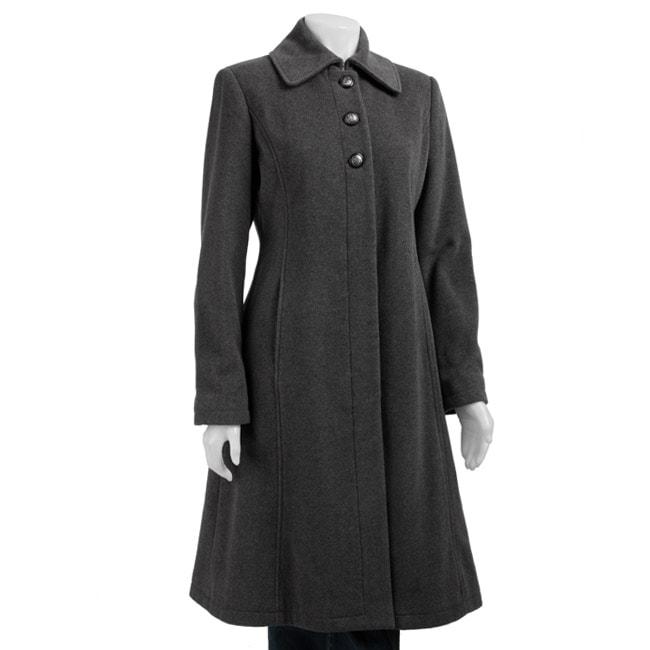 Marvin Richards New York Women's Long Coat - Overstock Shopping