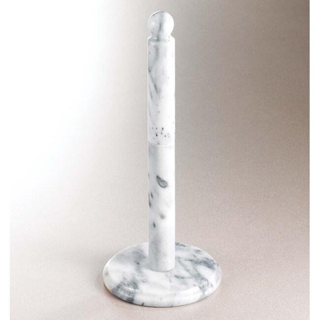 Marble Paper Towel Holder