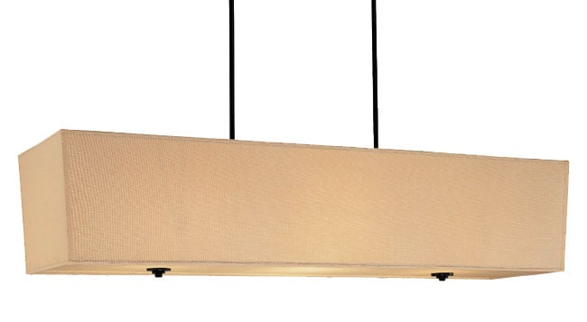 "48"" Ventura Large Rectangular Chandelier"