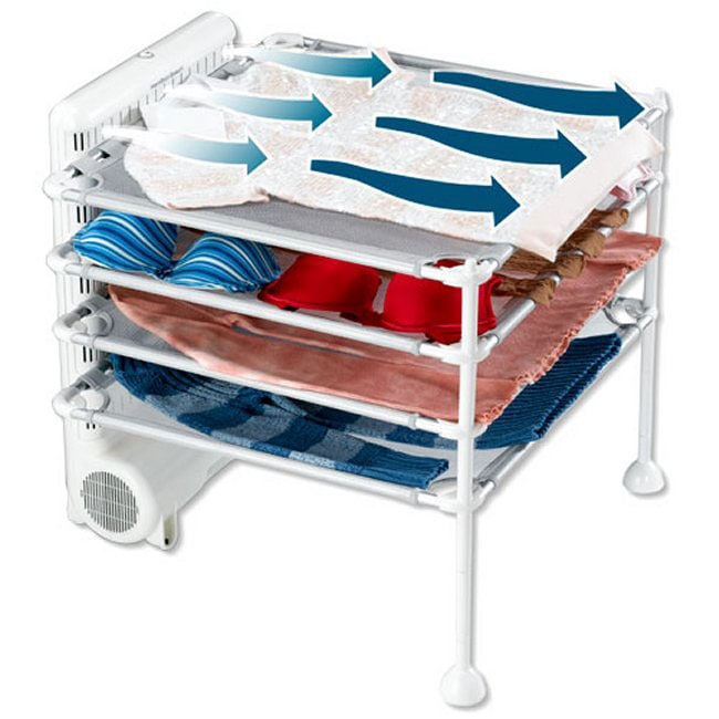 Hamilton Beach Quick Dry 4-shelf Garment Station