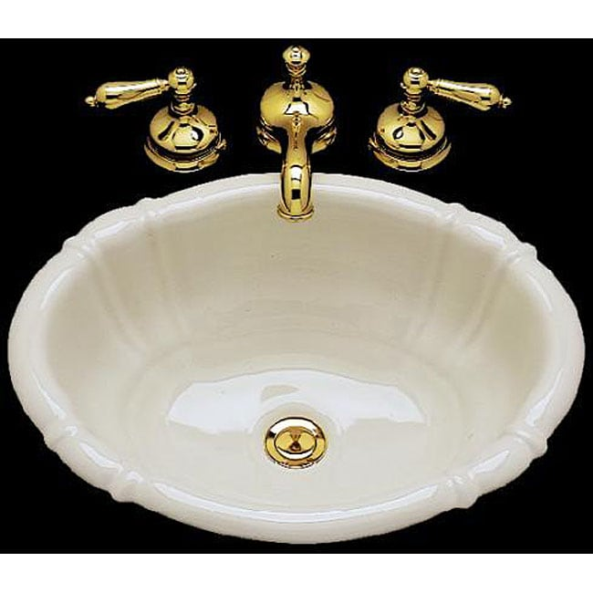 Oval Drop In Porcelain Bathroom Sink 11566268 Shopping Great Deals On
