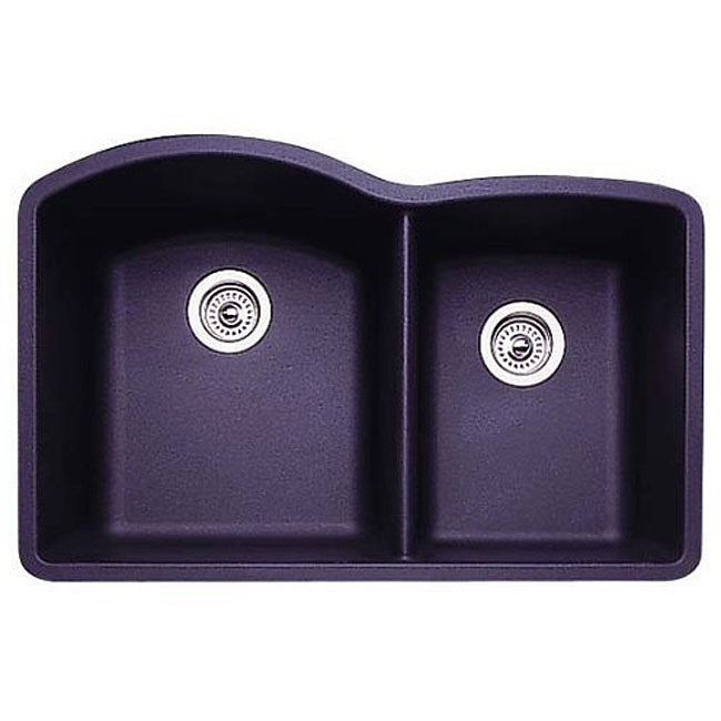 Blanco Overmount Sinks : ... One Undermount Stainless Steel Double-bowl Kitchen Sink and Faucet Set