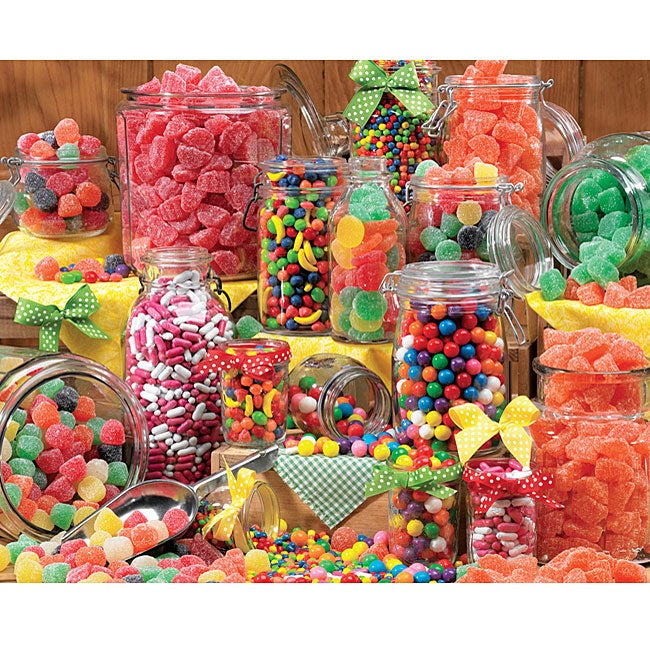Majestic Puzzles 'Colorful Candies' 550-piece Puzzle