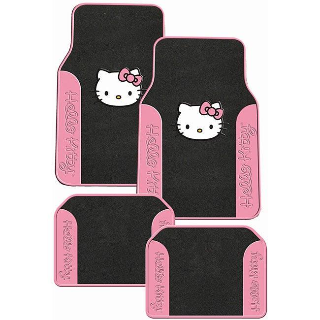 Hello Kitty 4-piece Auto Floor Mat Set