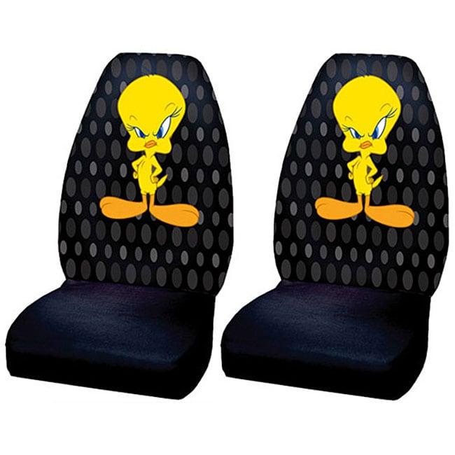 Tweety Bird Car Bucket Seat Covers (Set of 2)