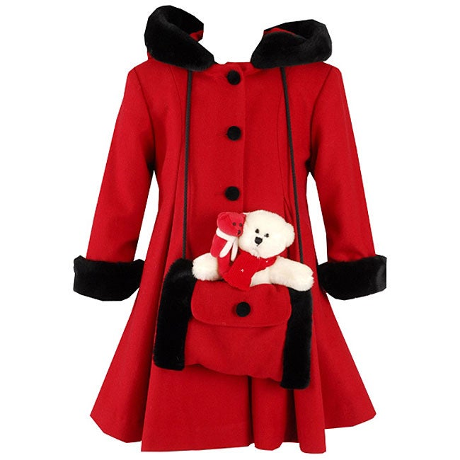 Trilogi Collection Girl's Dress Coat