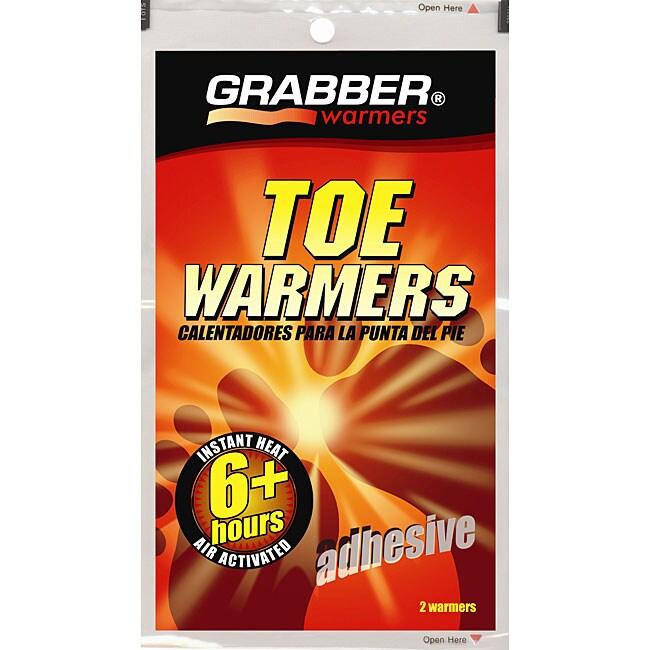 Grabber 6+ Hour Adhesive Toe Warmers (40 Pairs)