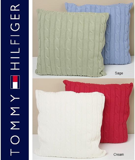 Tommy Hilfiger Cable Knit Pillow Set 11572693