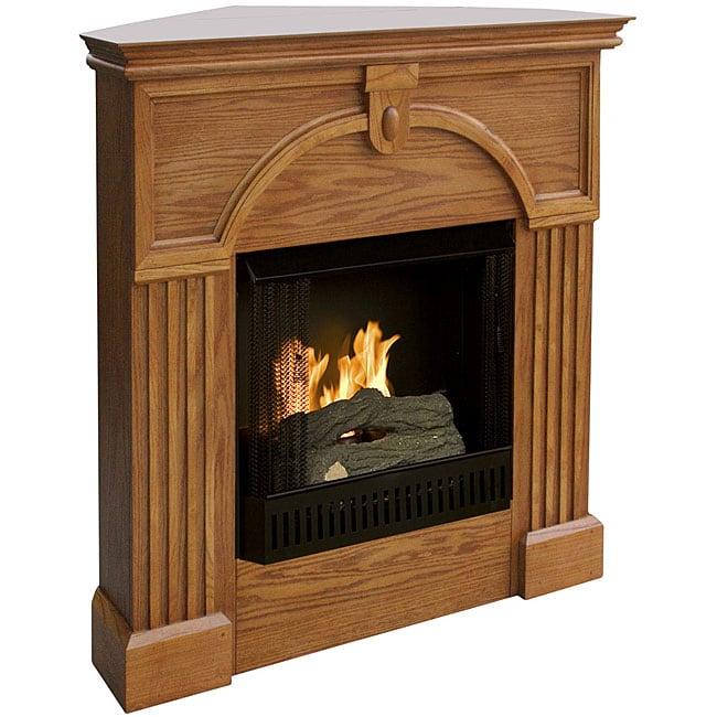 Turin Gel Fuel Corner Fireplace 11575082