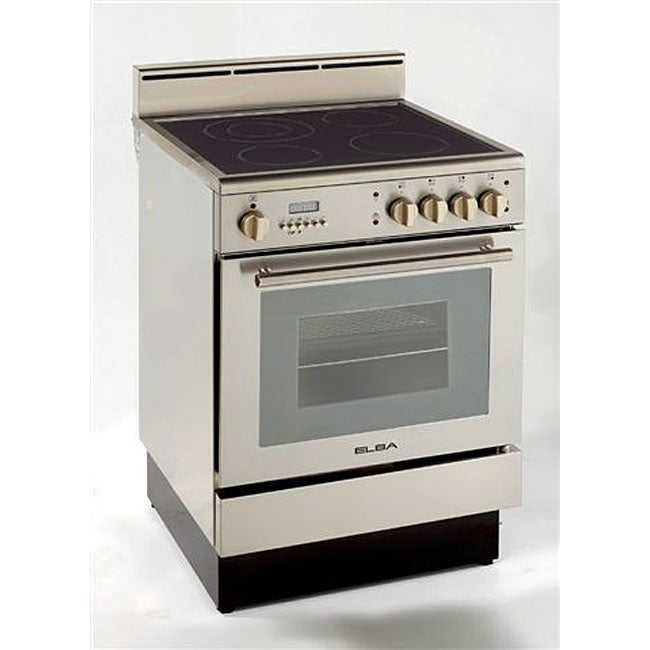 Deluxe Self-cleaning 24-inch Electric Range