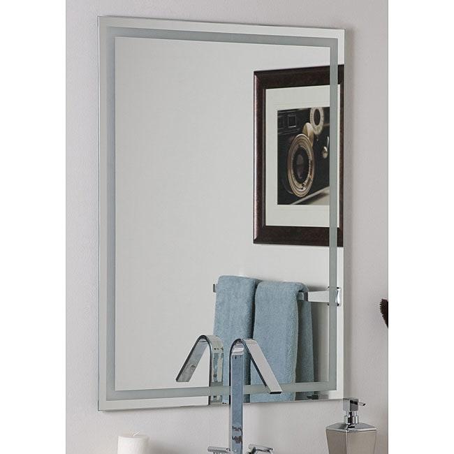 Frameless Etch Mirror