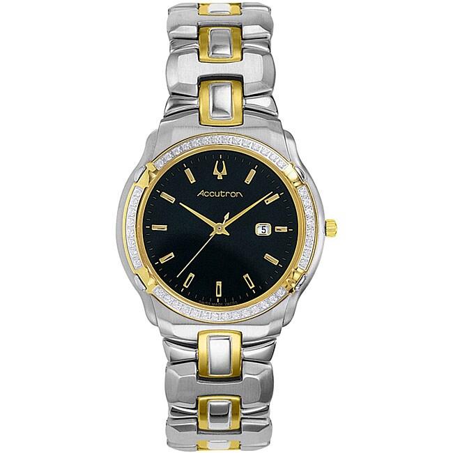 Accutron by Bulova Barcelona Men's Diamond Watch