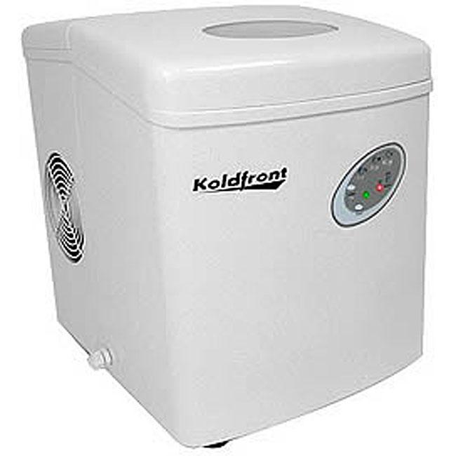 Koldfront White Portable Ice Maker