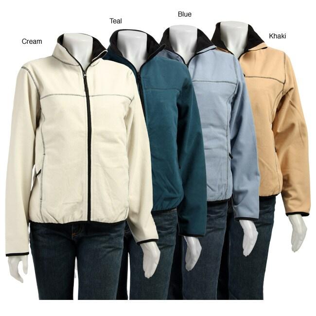 Tahoe Sportswear Women's Laminated Fleece Jacket