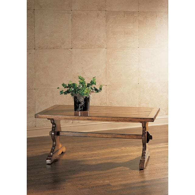 Thomasville Four Corners Notting Hill Trestle Table