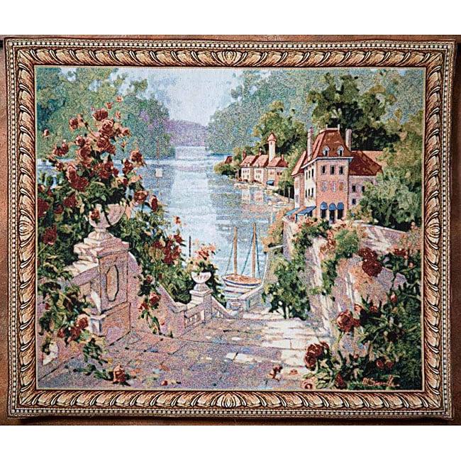 Magnolia Terrace Wall Art Tapestry