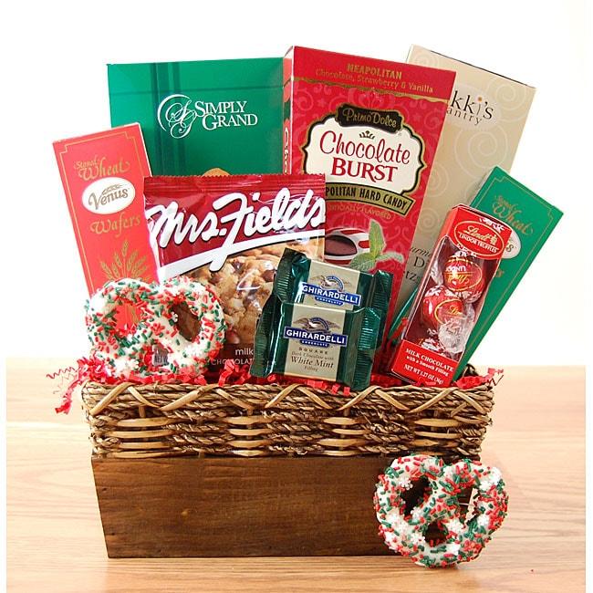 Holiday Treats Gift Basket