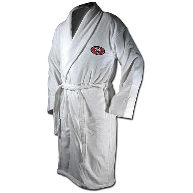 San Francisco 49ers Cotton Terry Bathrobe