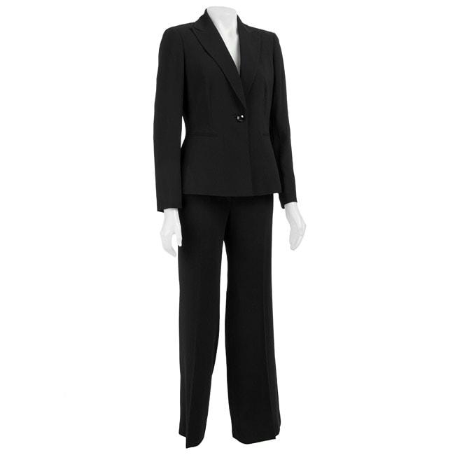 Kasper Womens 2 Piece Pant Suit