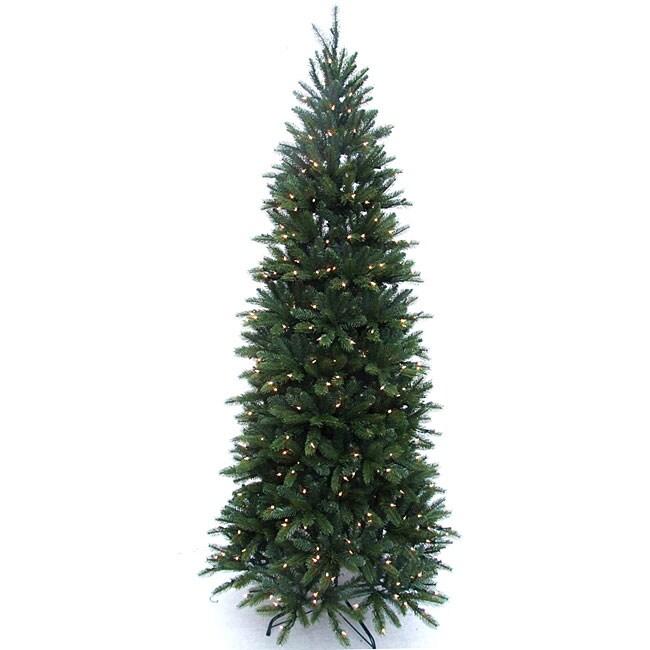 Lacrosse Fir 9-foot Pre-lit Christmas Tree