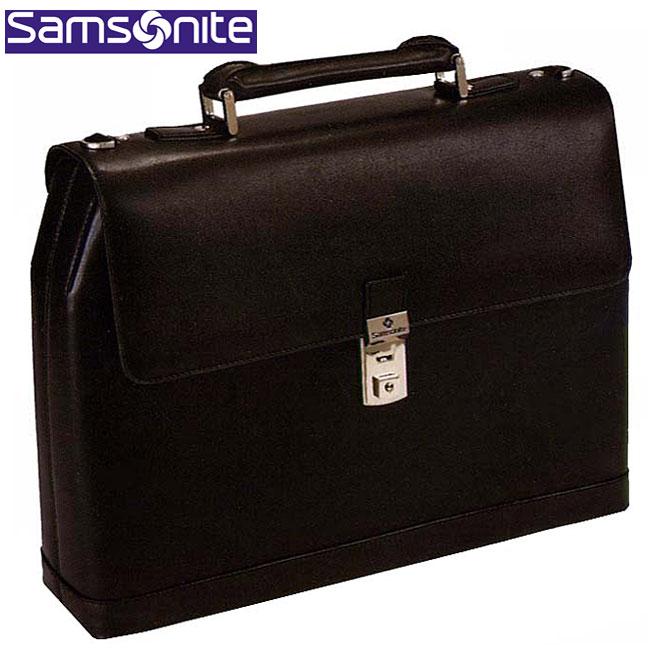 Samsonite Executive Leather Hardside Portfolio Briefcase Overstock Shoppin