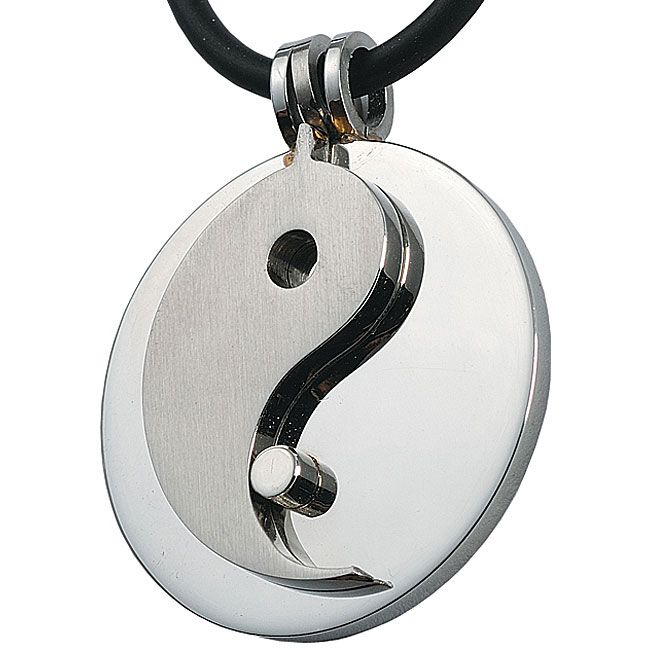Stainless Steel Ying Yang Necklace