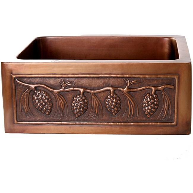 Pinecone Antique Finish 25-inch Kitchen Sink