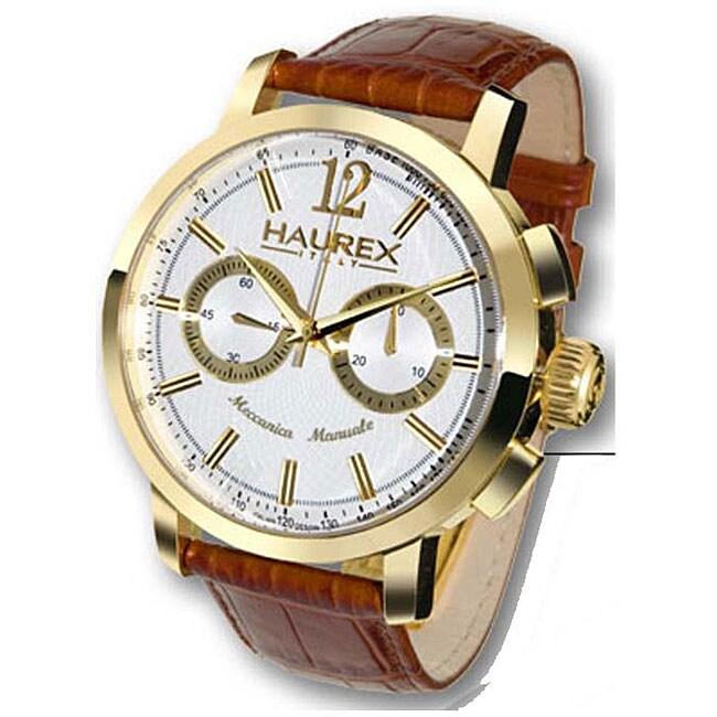 Haurex italy maestro men 39 s mechanical watch 11644920 shopping big discounts for Haurex watches