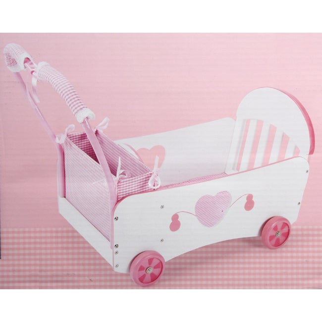Tot Tutors Wood Doll Wagon