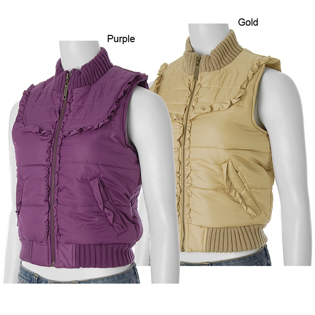 Ci Sono by Adi Juniors Quilted Vest