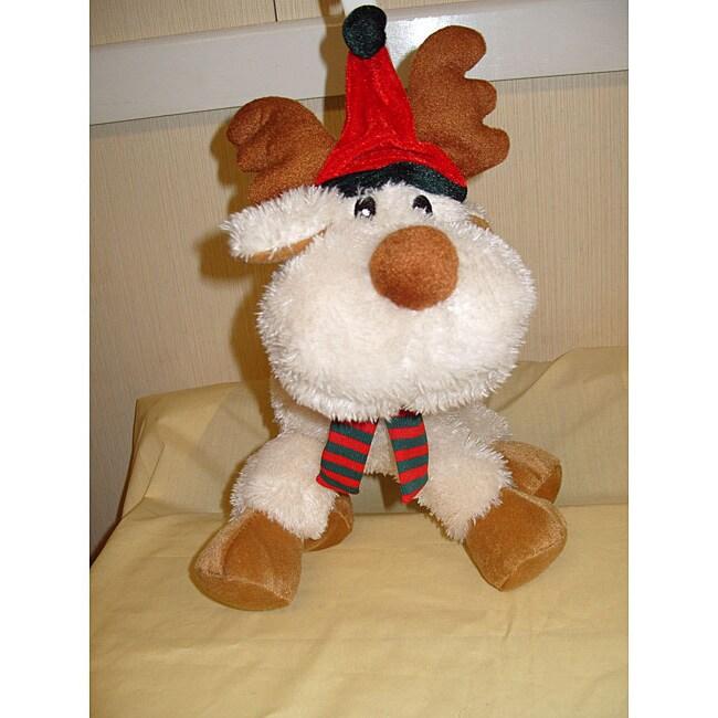 Floppy Moose Plush Pet Toy
