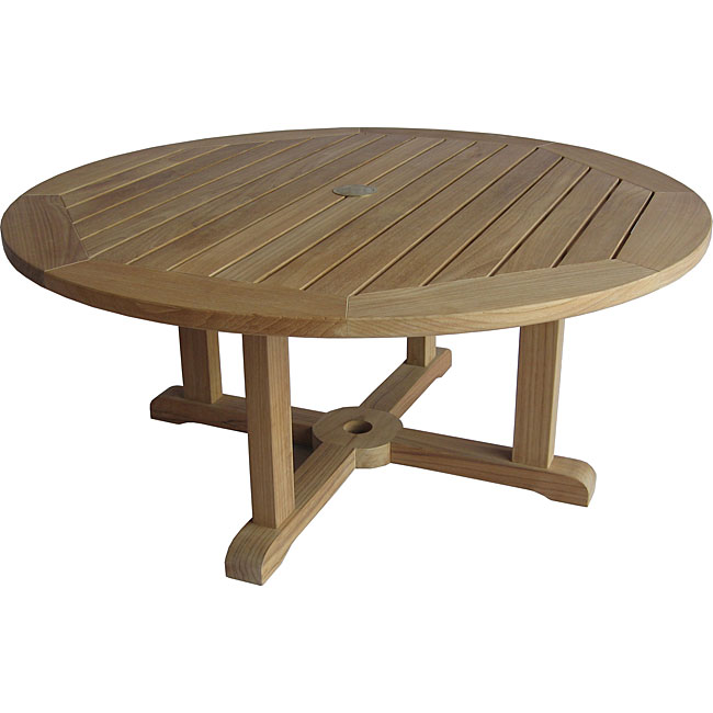 Solid Teak Round Coffee Table 11673777 Shopping Big Discounts On Coffee