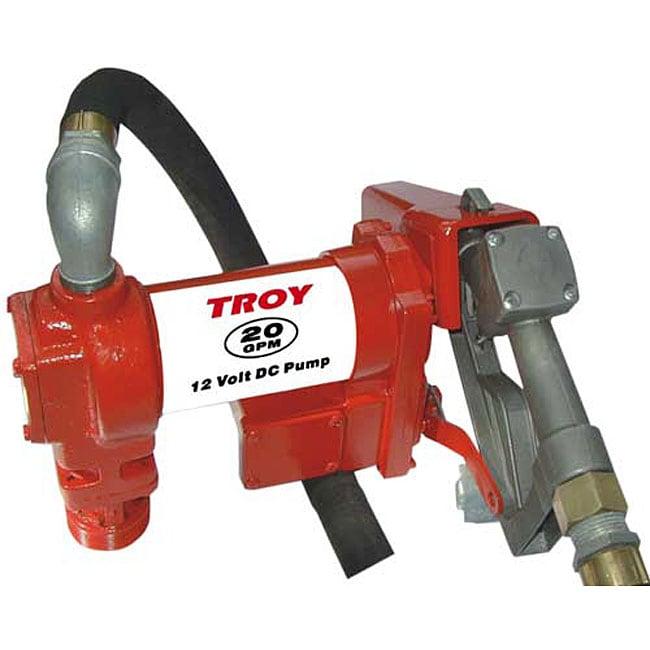 Heavy duty 20 GPM 12 volt Fuel Transfer Pump