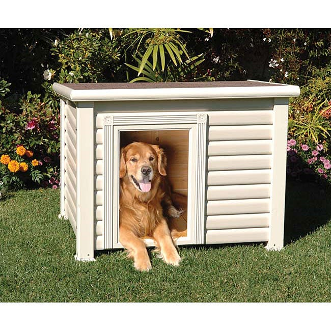 Precision Pet Large Country Club Pest-resistant Cabin Dog House