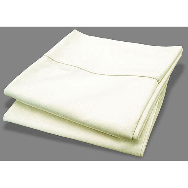 1000 Thread Count Ivory Pillowcases