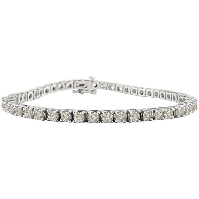 14k Gold 1 7/8ct TDW 6.5-inch Diamond Bracelet (I-J, I2)