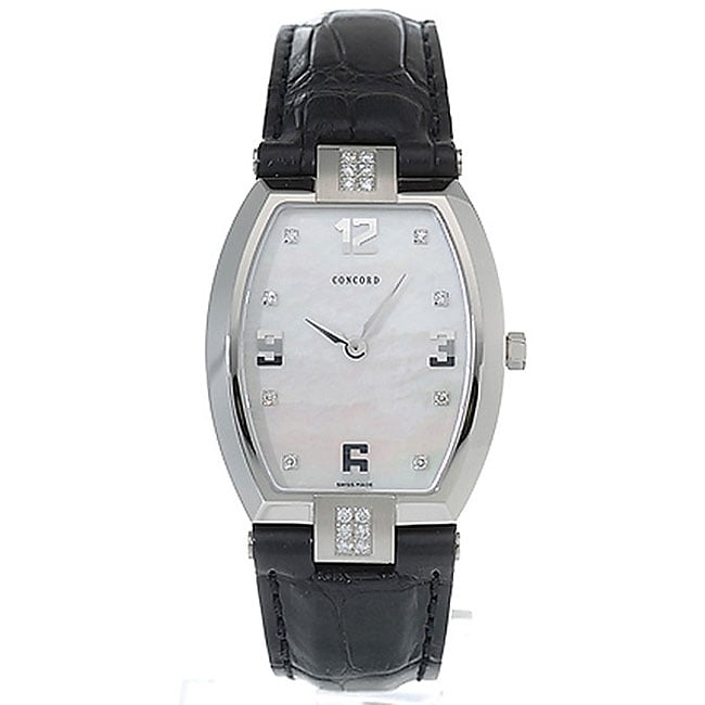 Concord La Scala Steel Women's Quartz Watch