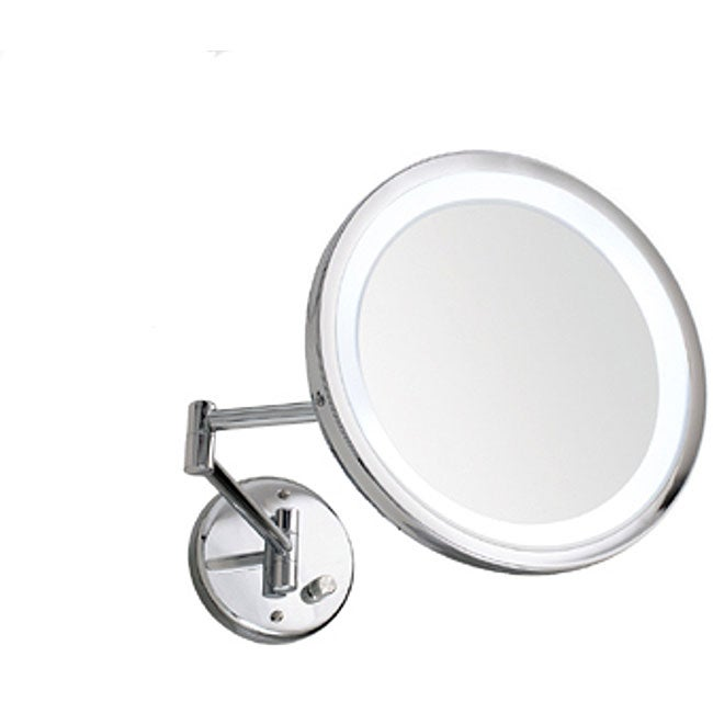 Danielle Wall-mount 10X Lighted Mirror