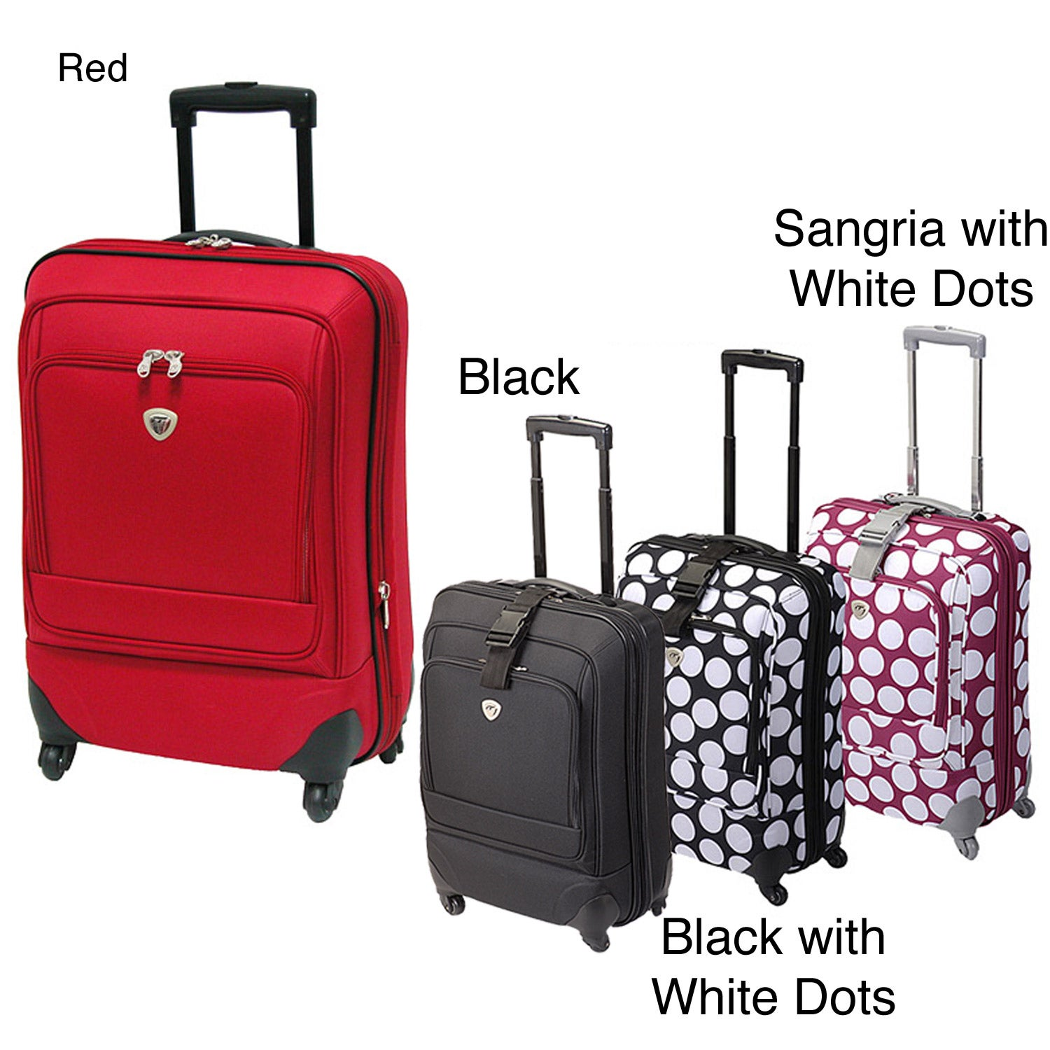 International Traveller Ion Spinner 26-inch Upright Luggage