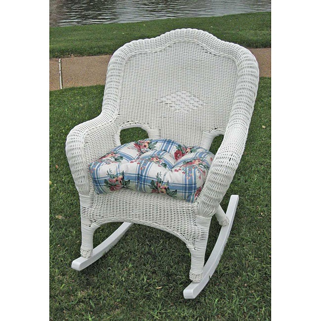 Overstock.com  PVC Resin/ Steel Frame Camel Back Rocker