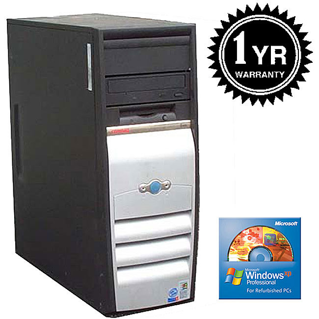 HP Compaq 2.0GHz 512MB 20GB Tower Computer (Refurbished)