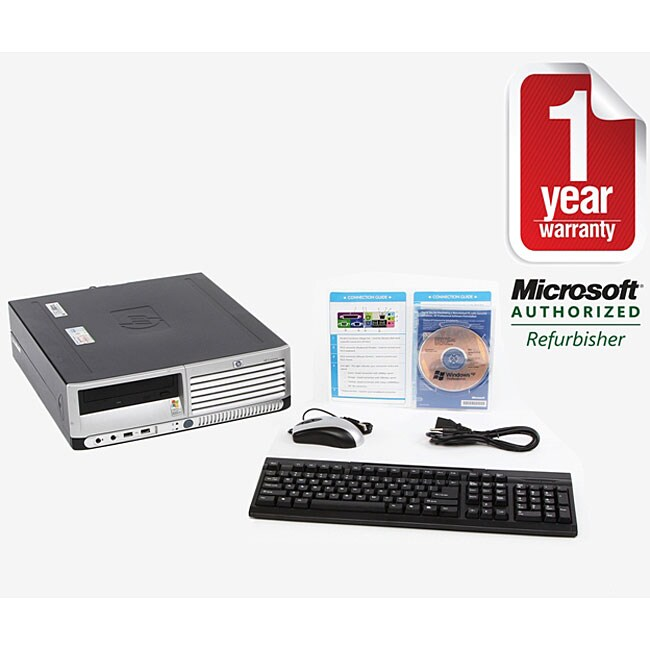 HP DC7100 3.2GHz Desktop XP Pro Computer (Refurbished)