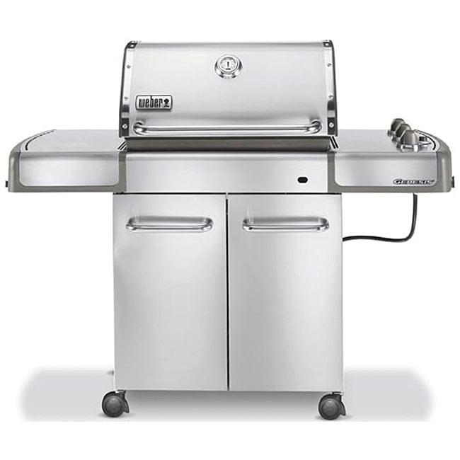 Weber Genesis S 310 >> Weber Genesis S-310 Stainless Steel Propane Gas Grill ...