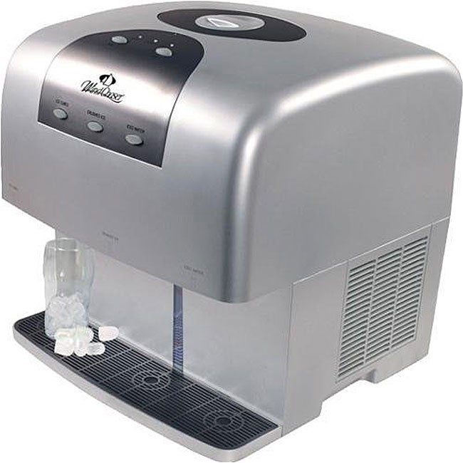 Quiet Countertop Ice Maker : ... PICEM15 Ultra Quiet Stainless Steel Countertop Ice Cube Maker