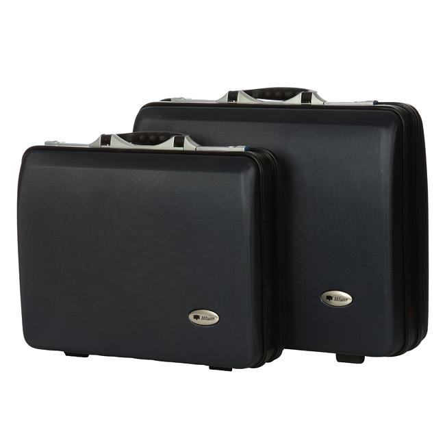 Luggage by O Bedford 2-piece Navy Travel Briefcase Luggage Set at Sears.com